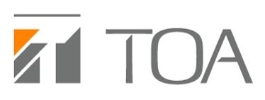 TOA株式会社のロゴ